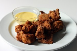 Chicken Nuggets with Honey Mustard Dressing